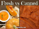 How to Substitute Fresh Pumpkin for Canned