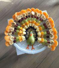 Fruit Turkey Platter