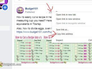 Facebook share tutorial 3