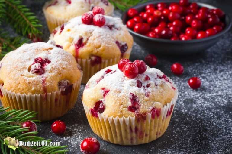 b101 cranberry muffins