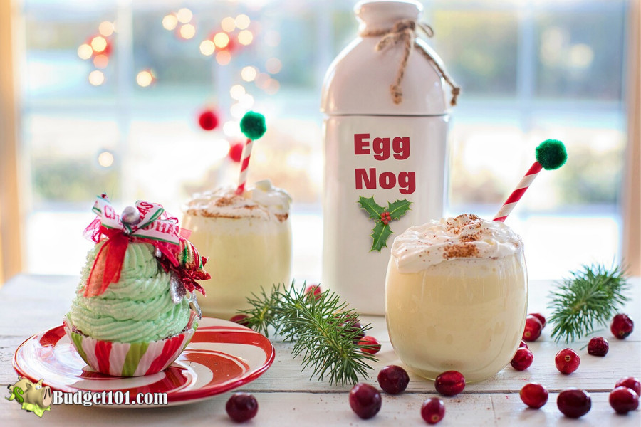 Homemade Eggnog Mix Recipe