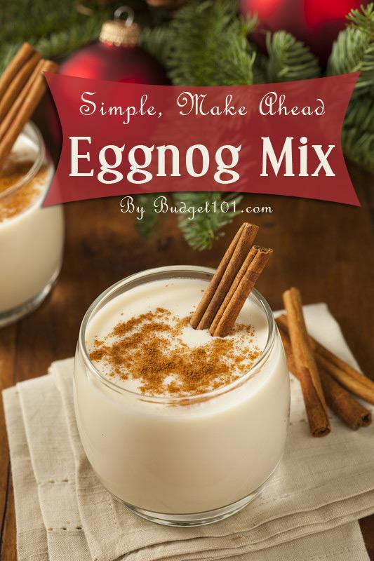 MYO Eggnog Mix