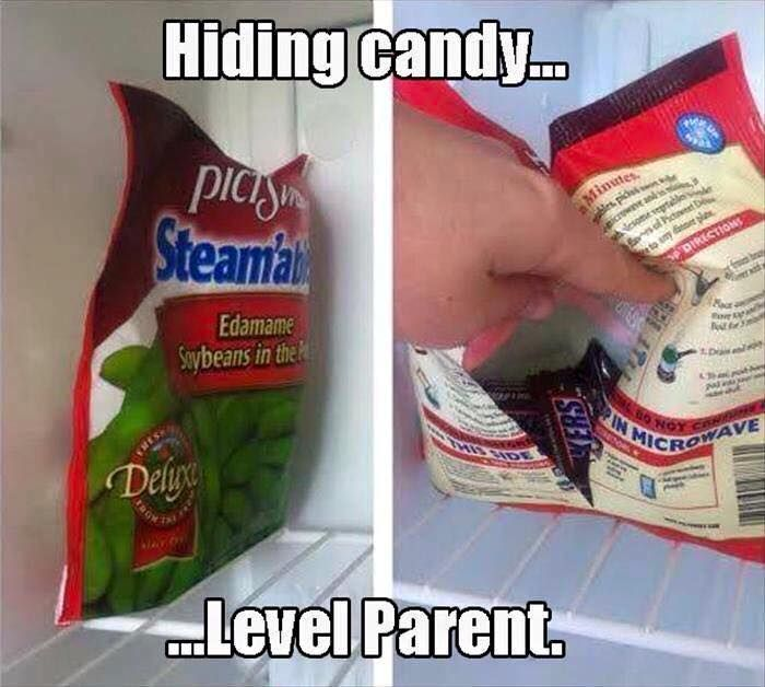 b101 hide candy in freezer