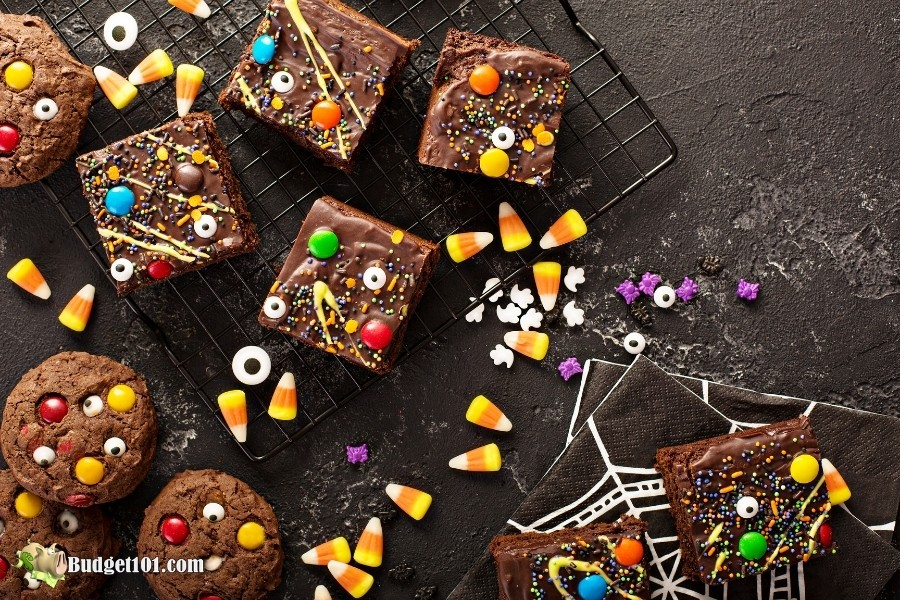 b101 leftover halloween candy recipes
