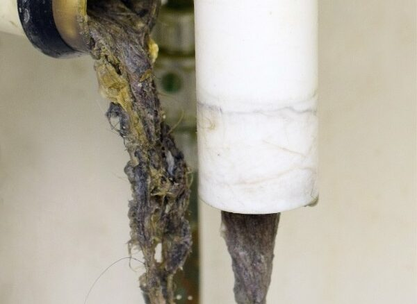 b101 clogged drain
