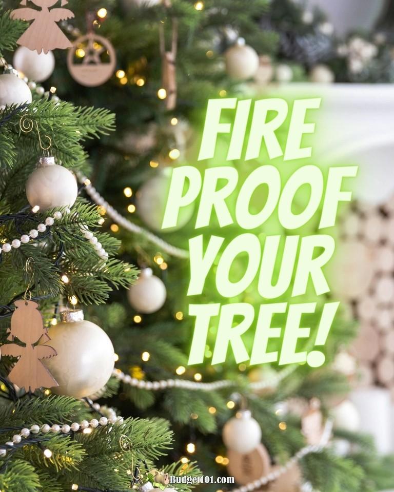 b101 fire proof christmas tree