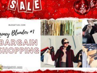 Bargain Shopping Blunders