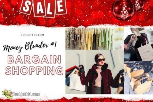 b101 money blunders bargain shopping f
