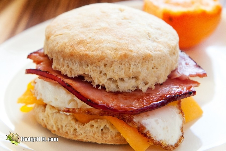 biscuit leftover ham ideas budget101