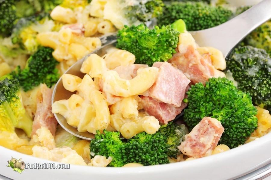 mac n cheese leftover ham recipe ideas