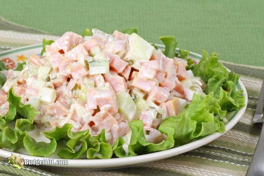 salad leftover ham ideas budget101