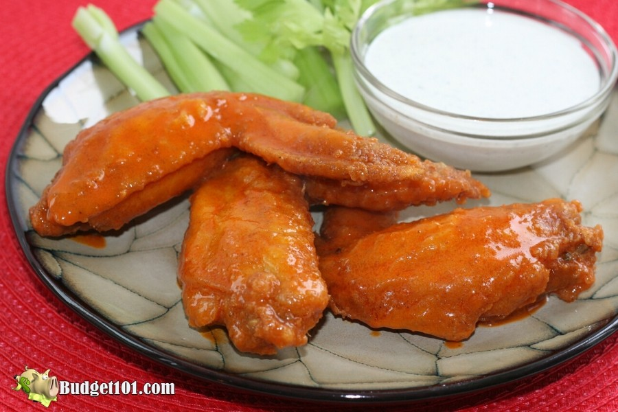 Hotwings and Blue cheese