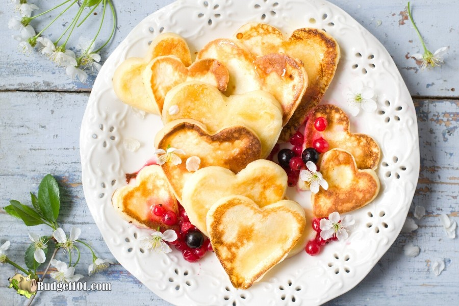 Budget101 Romantic Valentines Day breakfast Ideas