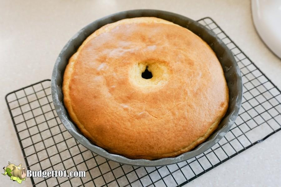 Jelly Donut Cake in Bundt pan- Budget101.com