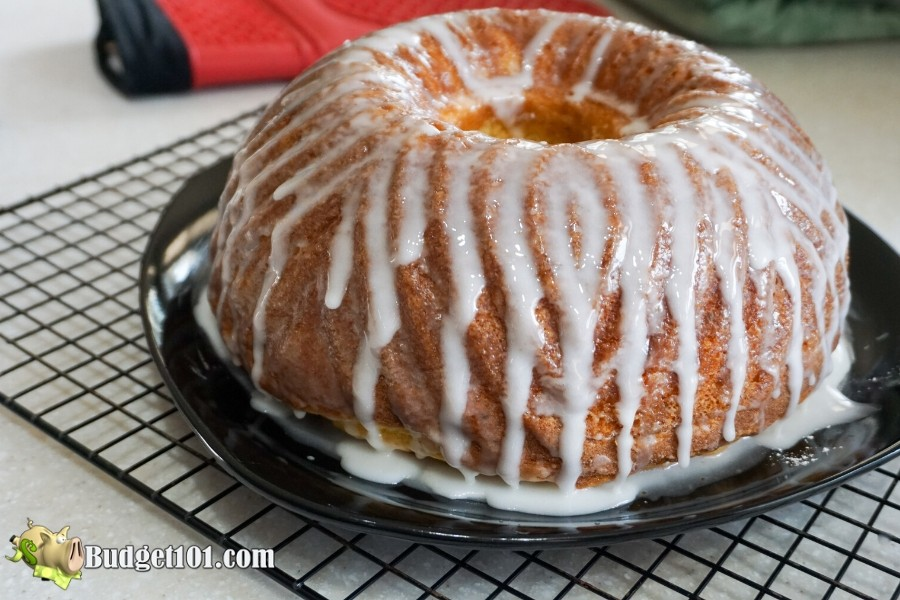 Jelly Donut Bundt Cake- Budget101.com