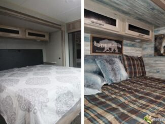 b101 rv camper bedroom makeover