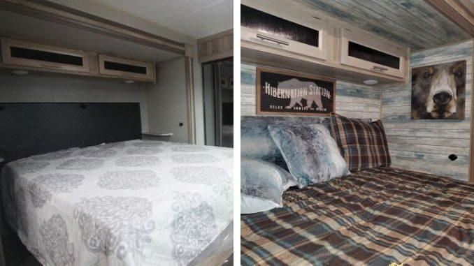 Affordable Camper Bedroom Remodel Project