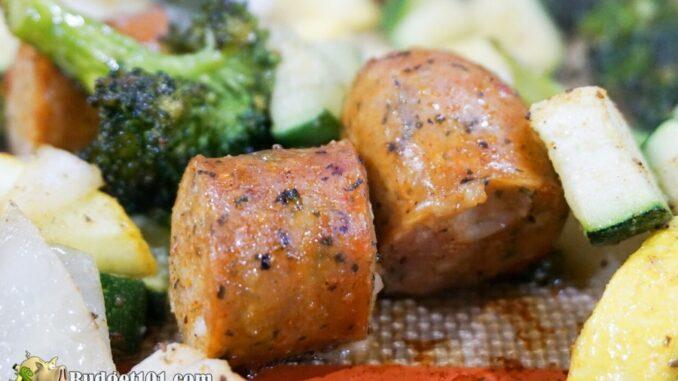 b101 zucchini sausage sheet pan dinner 2
