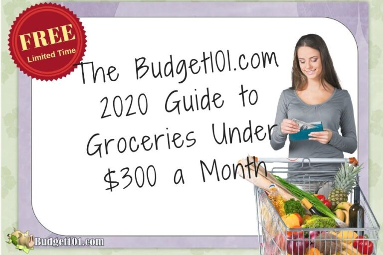 Budget101 Guide to Groceries under $300 a Month