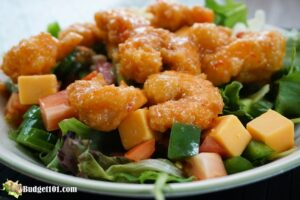 The Best Bang Bang Shrimp Salad