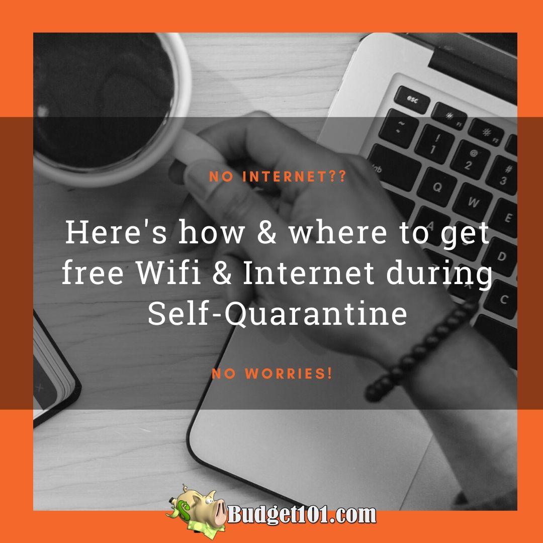 Free WiFi during Coronavirus