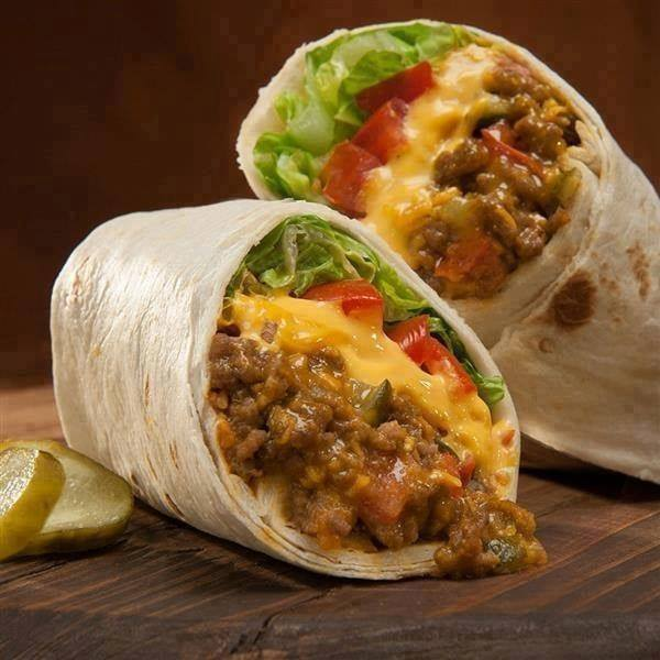cheeseburger-wraps