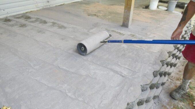 b101 stamped concrete patio 28