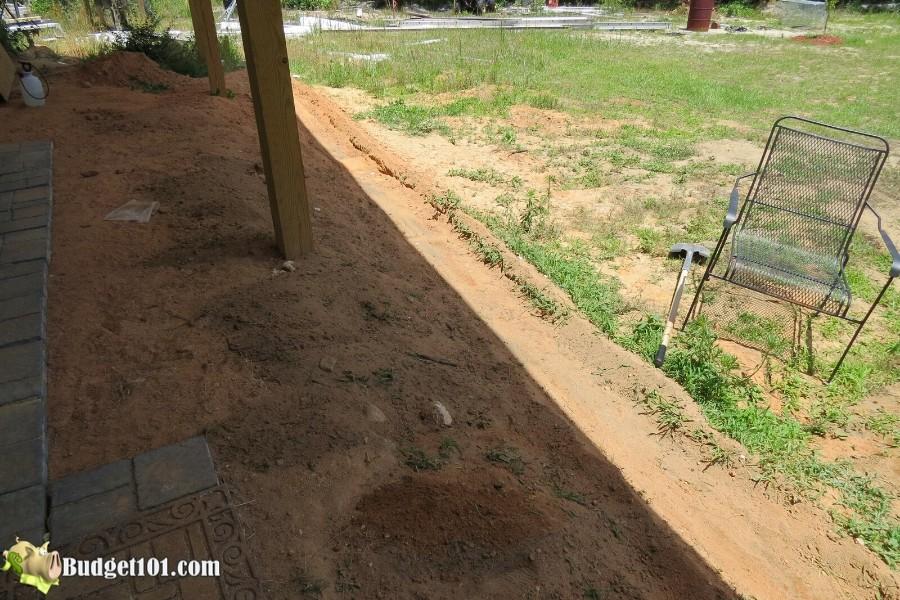 Stamped Concrete Patio Step 4 - By Budget101.com