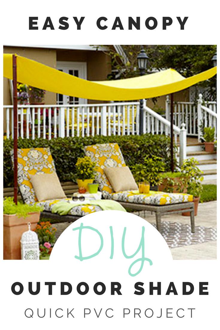 backyard canopy diy