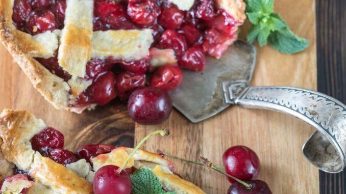 b101 cherry filling pie