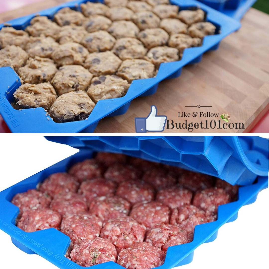 Meatball Master Silicone Tray