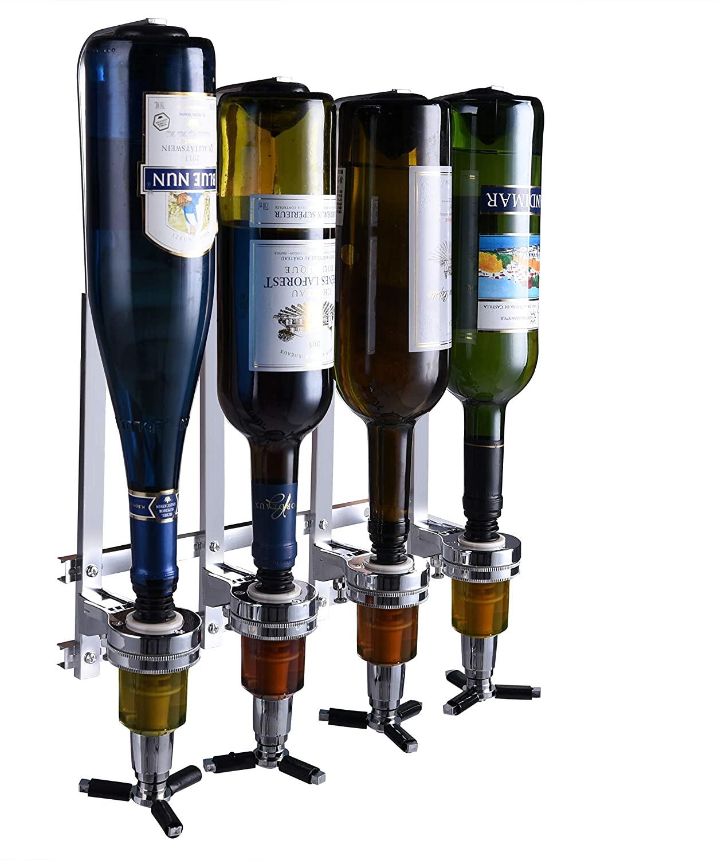 Wall mount liquor dispenser