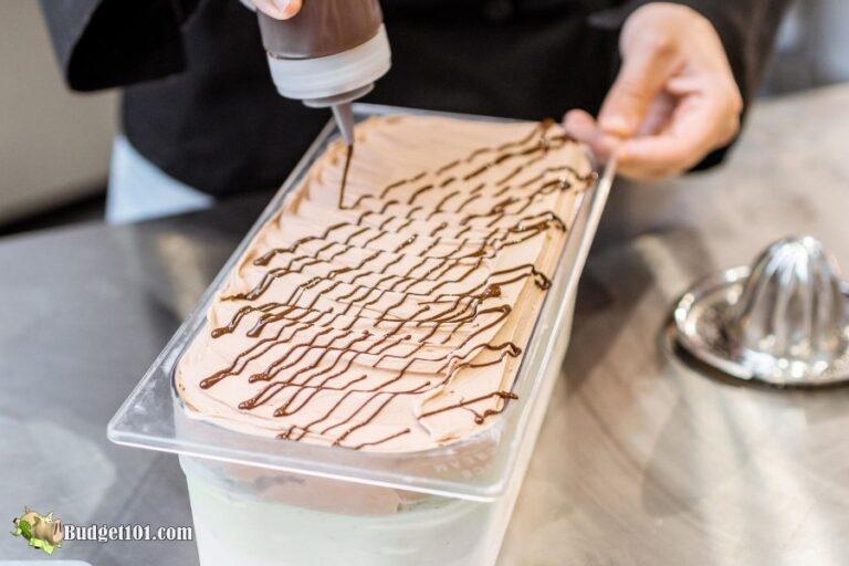 b101 Keto Chocolate syrup ice cream