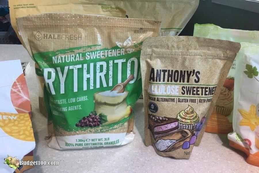 B101 Keto Sweeteners- Erythritol & Allulose