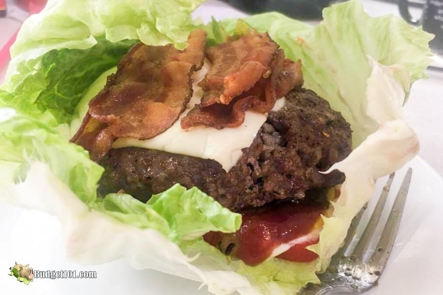 Keto Bunless Burger - Budget101.com
