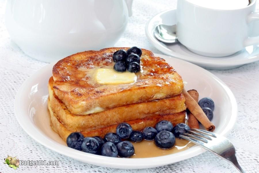 Keto French Toast- Budget101.com