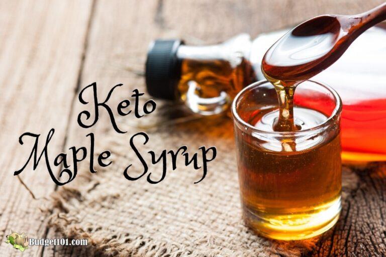 b101 keto maple syrup