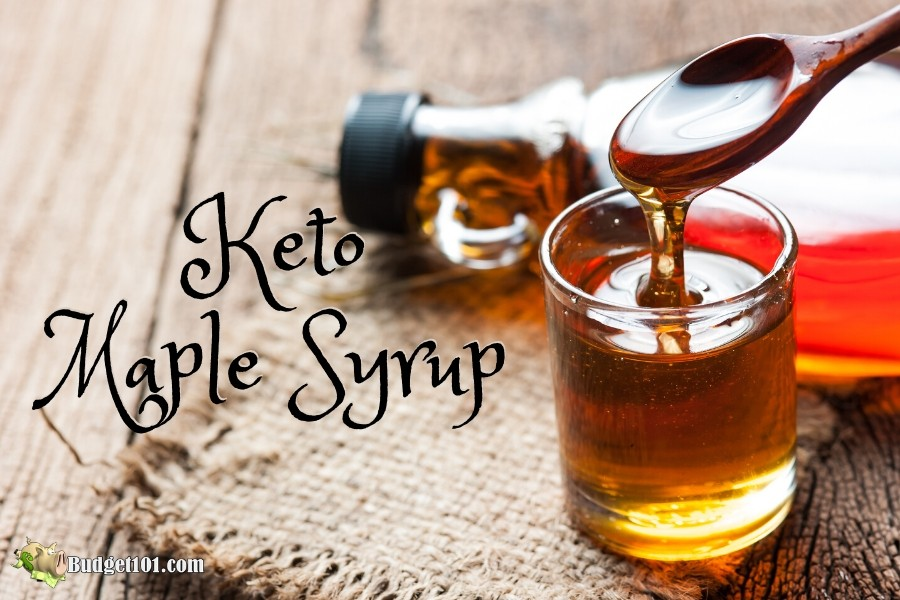 MYO Keto Maple Syrup