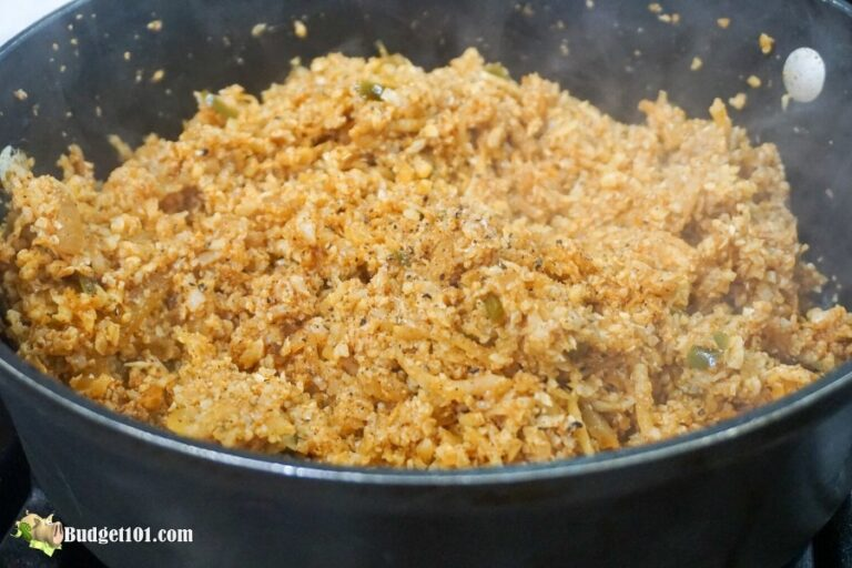 b101 keto mexican rice step 5