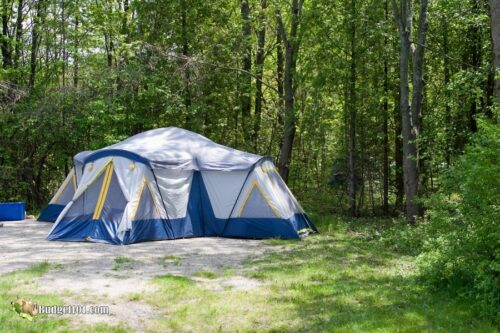 b101 tent camping