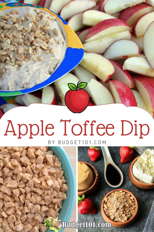 easy apple toffee dip