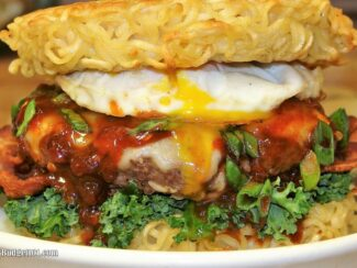 Over the Top Ramen Burger- Budget101.com