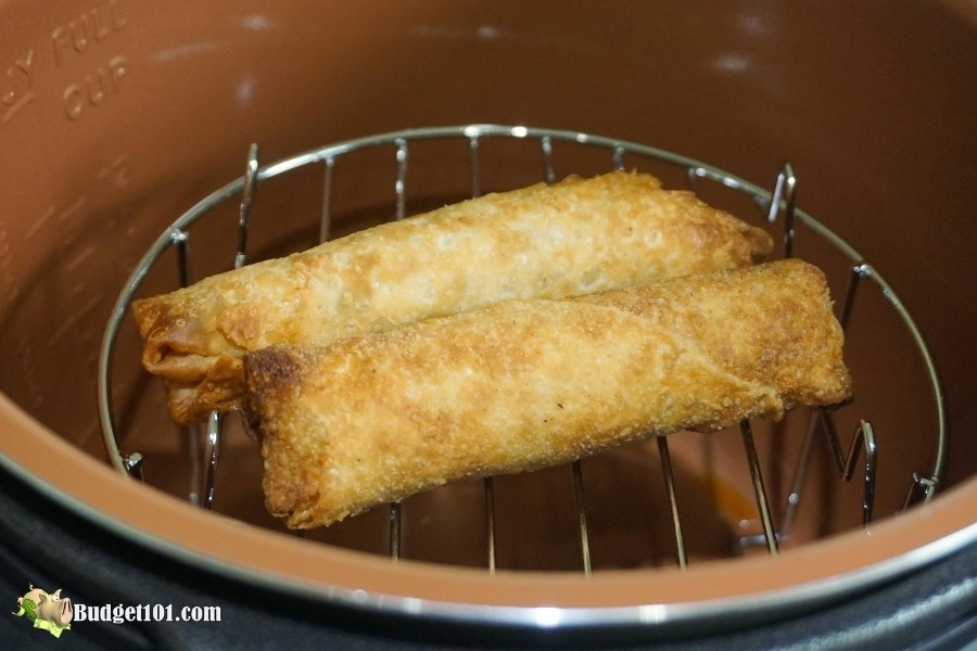 b101-air-fryer-review-cooked-eggrolls