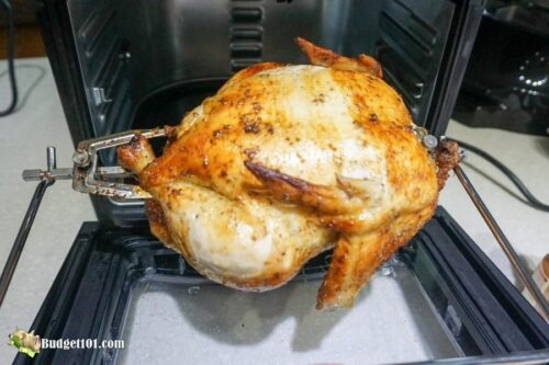 b101 air fryer rotisserie chix