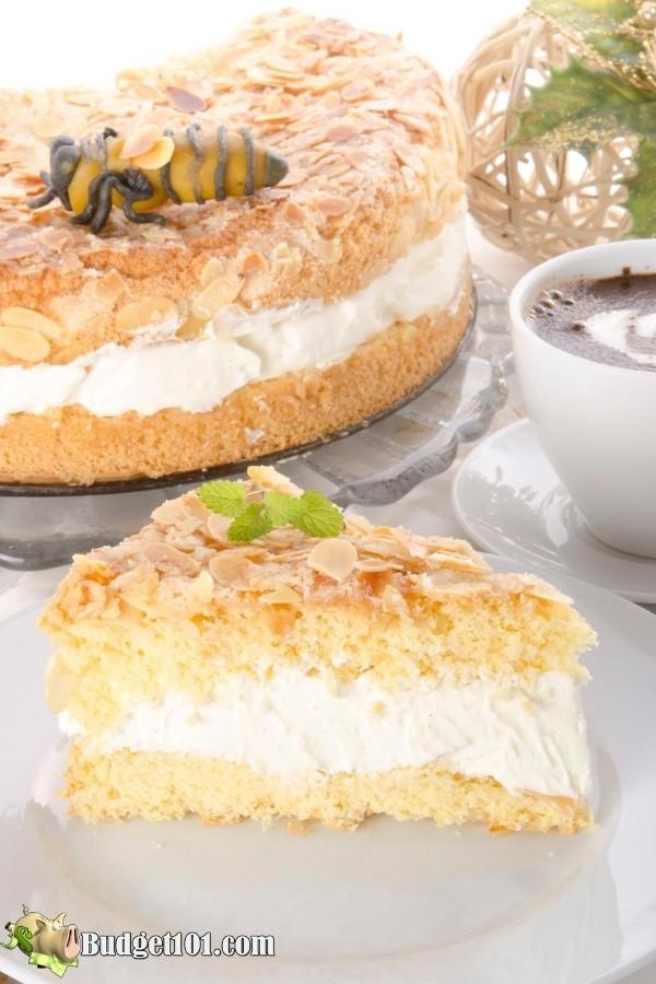 Bienenstich Kuchen Cake