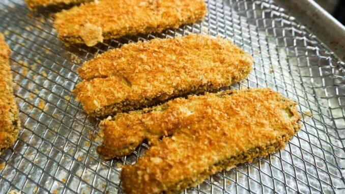 b101 keto air fried pickles