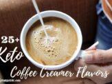 MYO Keto Coffee Creamers in 25+ Flavors
