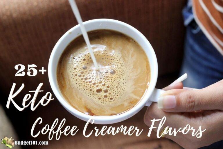 b101 keto coffee creamer flavors