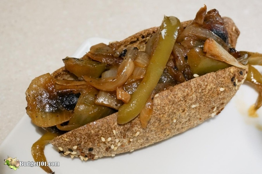 Keto Sausage Sub Sandwich