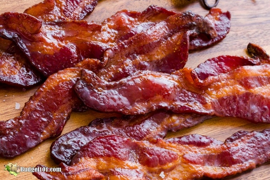 Maple Brown Sugar Candied Bacon